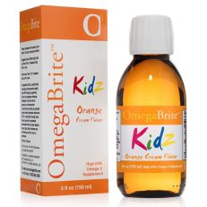 Omegabrite KIDZ - Omega-3 for kids. Orange and Tutti-Frutti Flavor